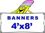 j 4x8 Banner Banners