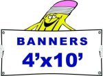 k 4x10 Banner Banners