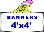 h 4x4 Banner Banners