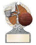 Basketball Multi Color Sport Resin Figure Basketball Trophy Awards