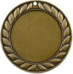 Blank Leaf Gold Insert Medallion Awards