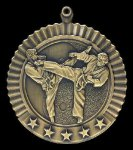 Star Karate Male Medals Karate Trophy Awards
