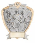 Signature Series Lacrosse Shield Award La Crosse Trophy Awards