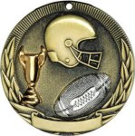 Football Tri-Colored Medal Awards
