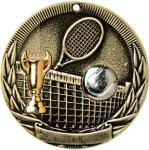 Tennis Tri-Colored Medal Awards