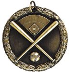 Baseball with Field XR Series Medal Awards