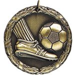 Soccer with Foot XR Series Medal Awards